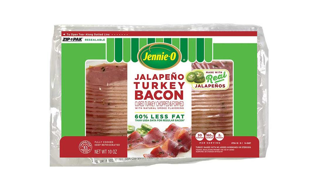 Jennie-O Jalapeno Turkey Bacon