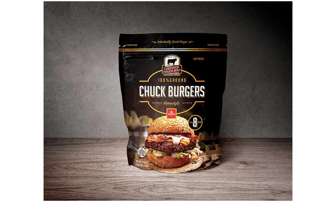 Jensen Meat's Chuck Burgers.