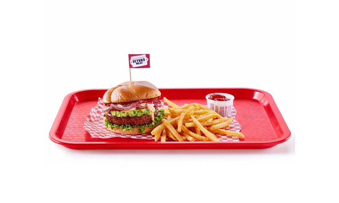 A Beyond Meat burger