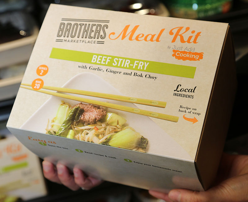 Just Add Cooking, Roche Bros. meal kits