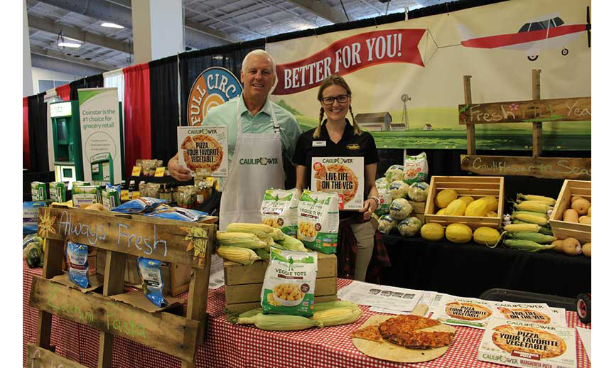 Associated Grocers Spring Food Show booth