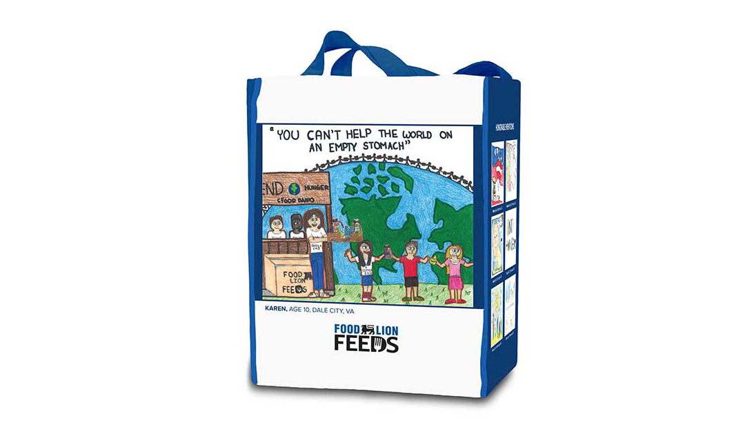 A winning reusable bag design