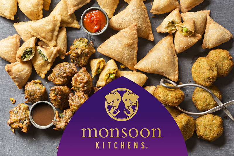 Monsoon Kitchens appetizers