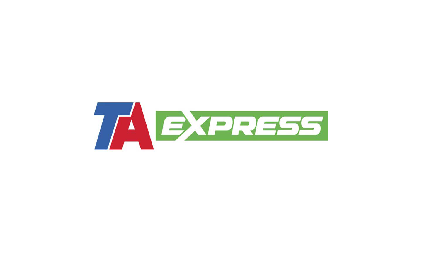 TA Express logo, TravelCenters Baytown