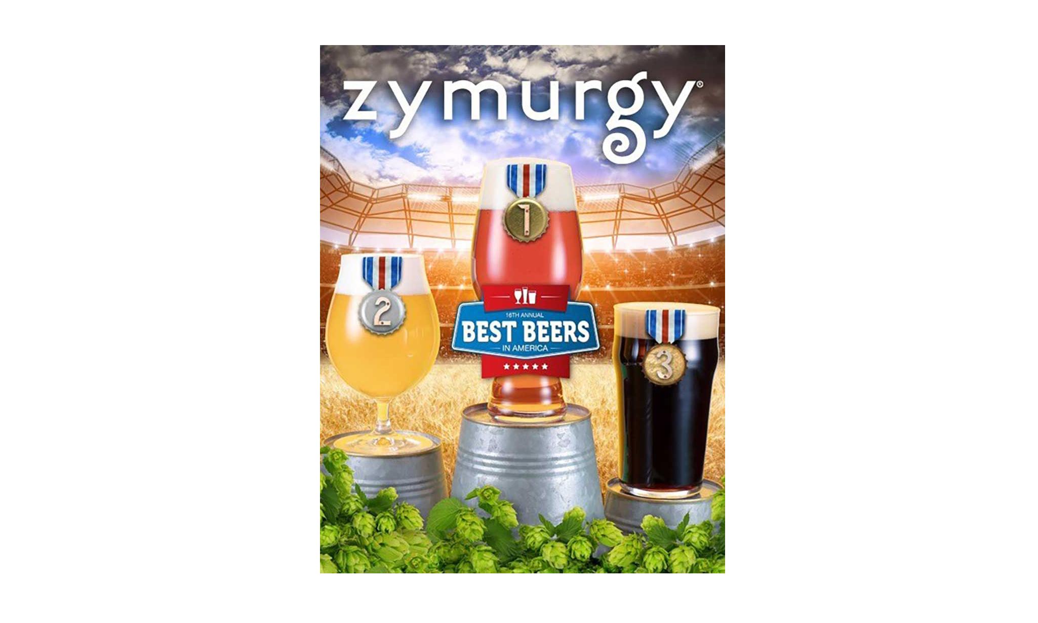 Zymurgy Best Beers artwork
