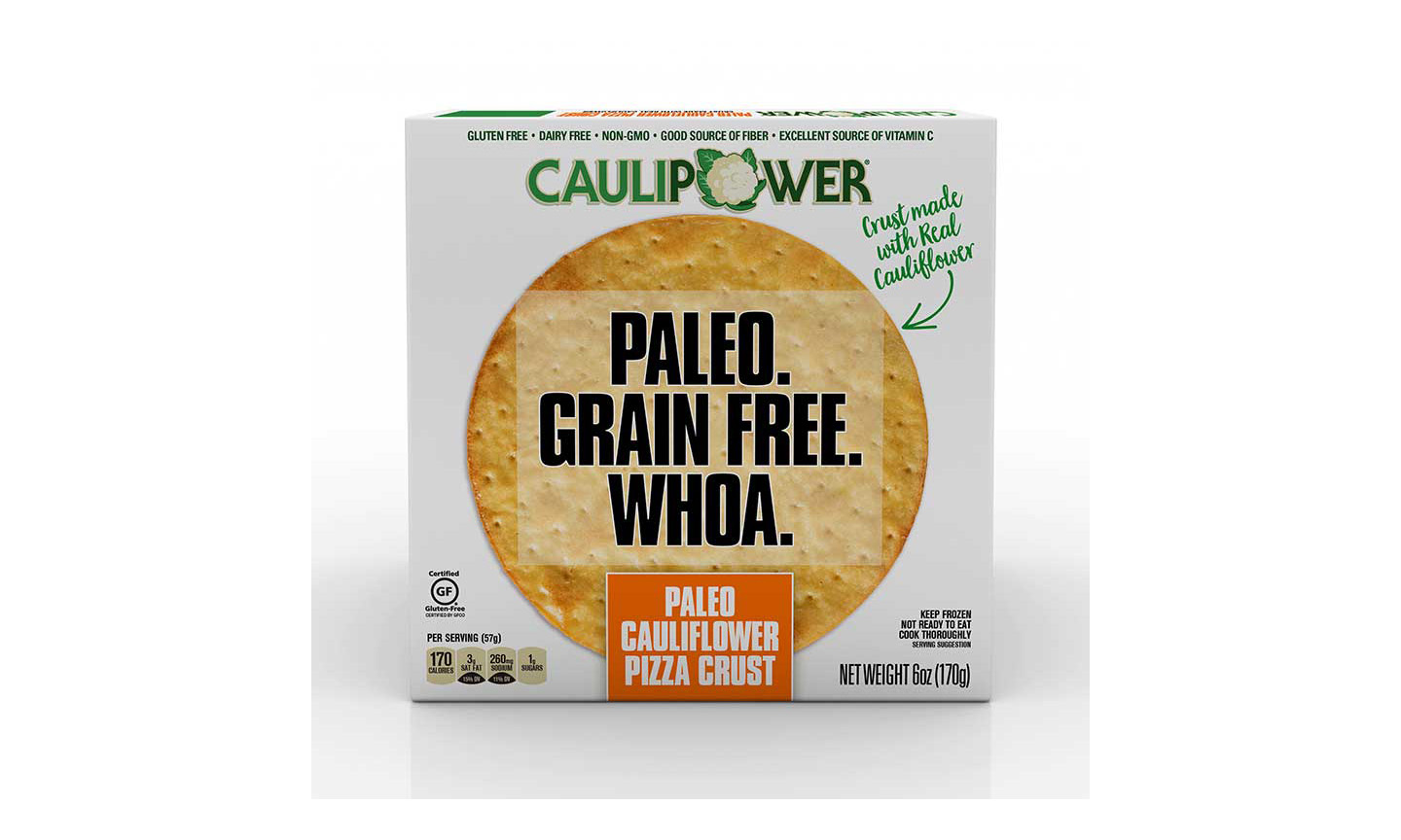 Caulipower's Frozen Paleo Cauliflower Pizza Crust