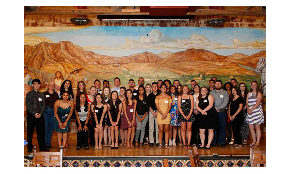 Arizona Food Marketing Alliance scholarship awardees.