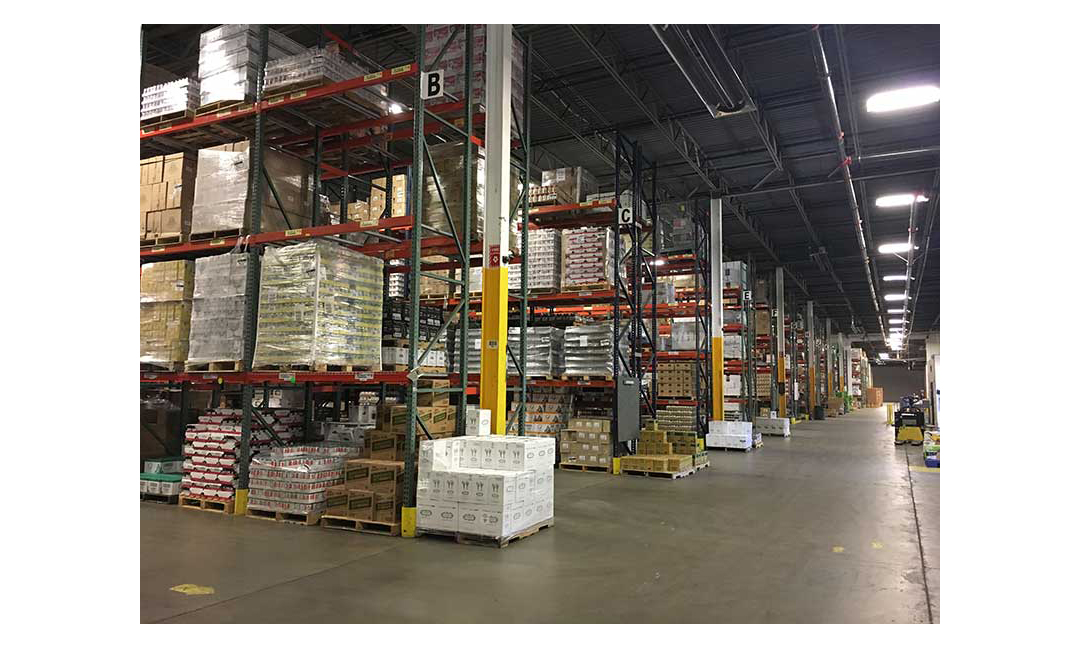 Chex Finer Foods' expanded warehouse