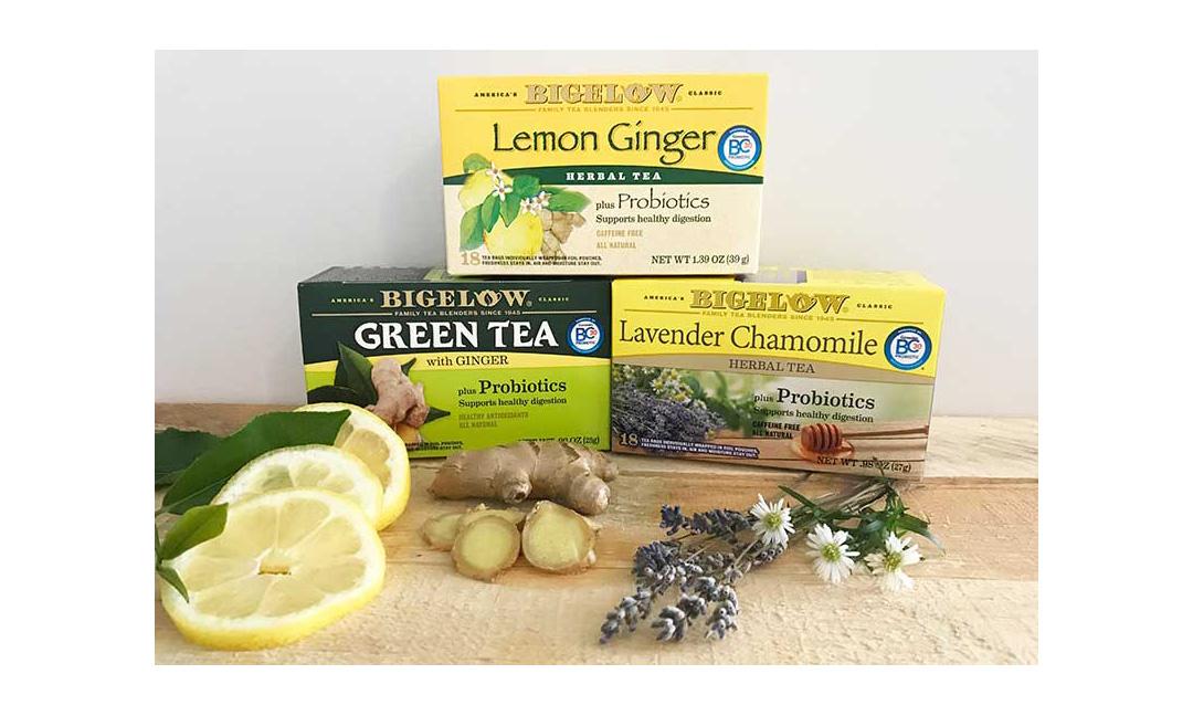 Bigelow's probiotic tea