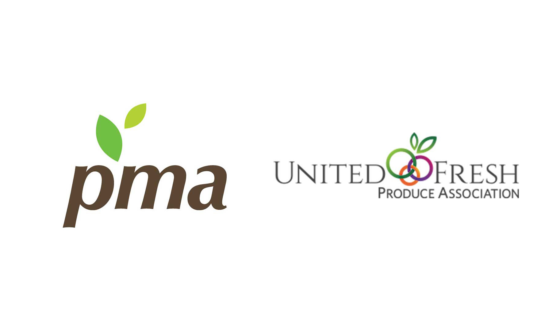 PMA and United Fresh logos
