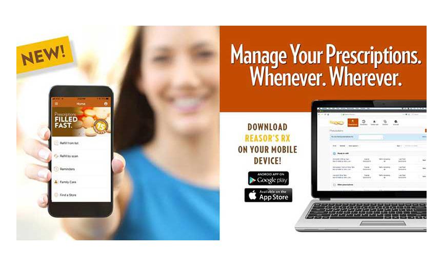 Reasor's new mobile pharmacy app