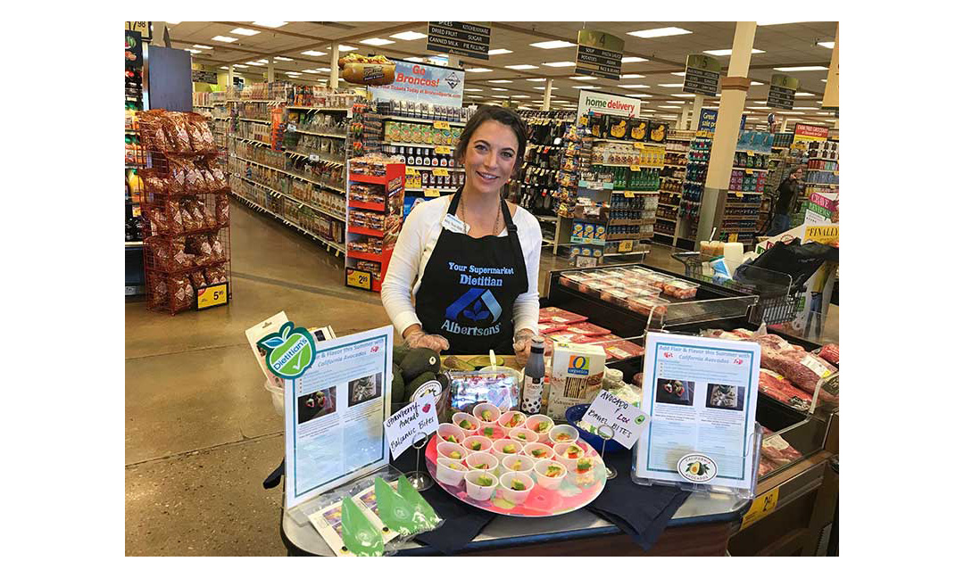 Molly Tevis of Albertsons.