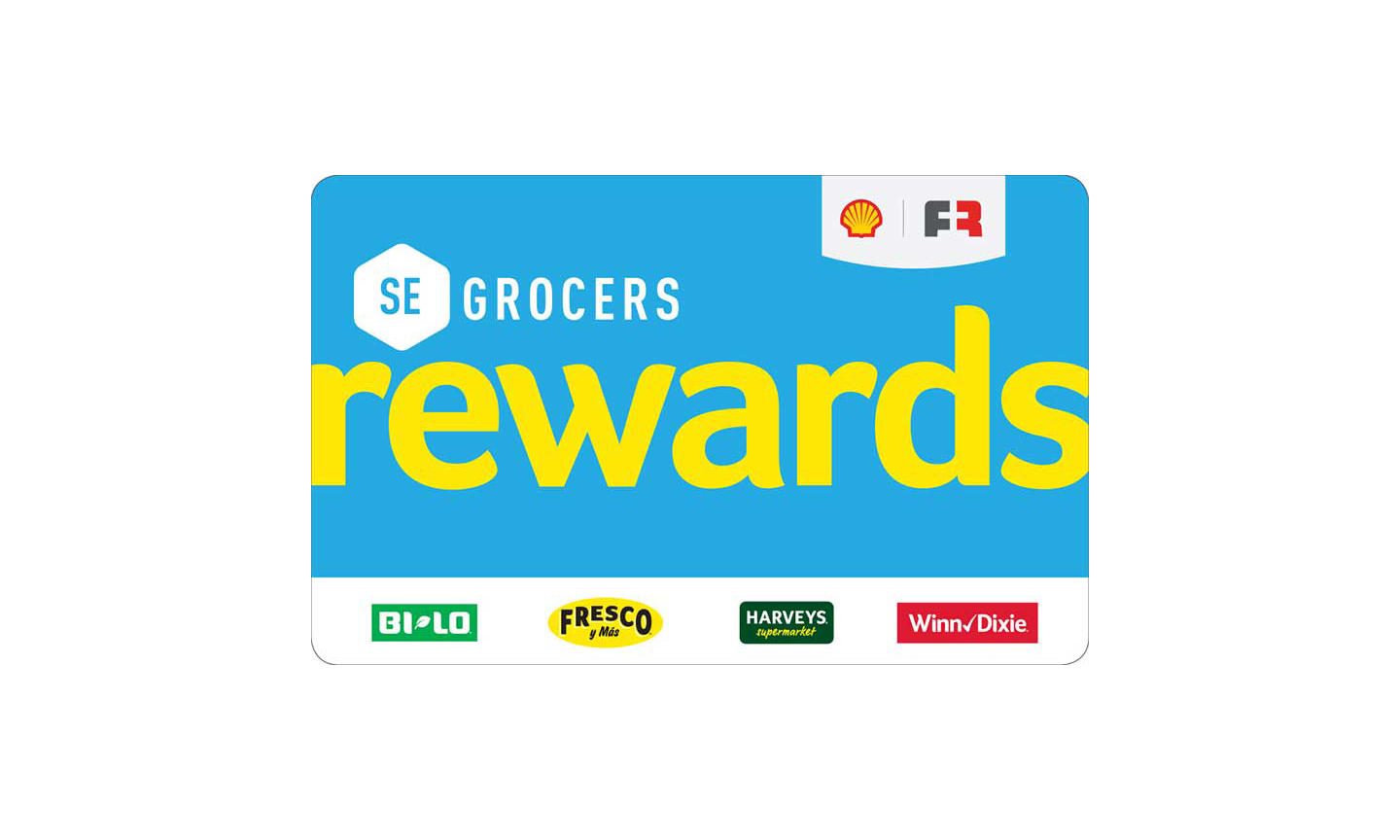 SE Grocers rewards card