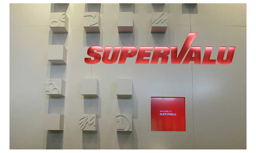 A photo of Supervalu's offices