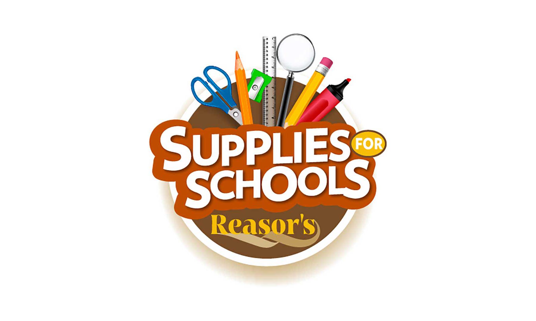 Reasor's Supplies for Schools logo