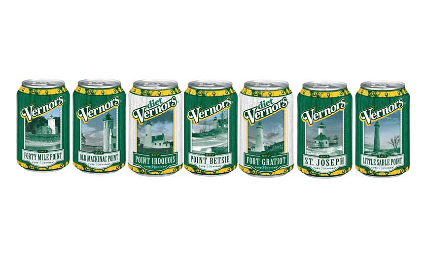 Vernors limited edition cans