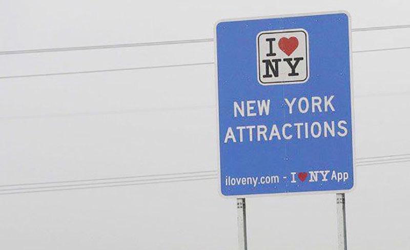 Stew Leonard Love NY sign