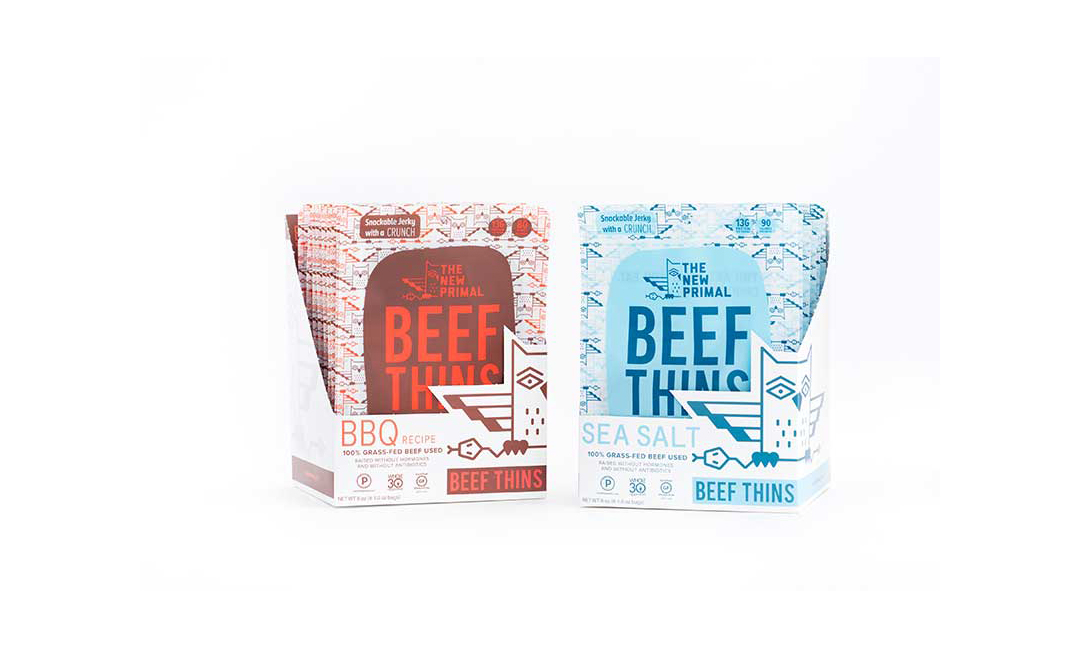 Packages of Beef Thins
