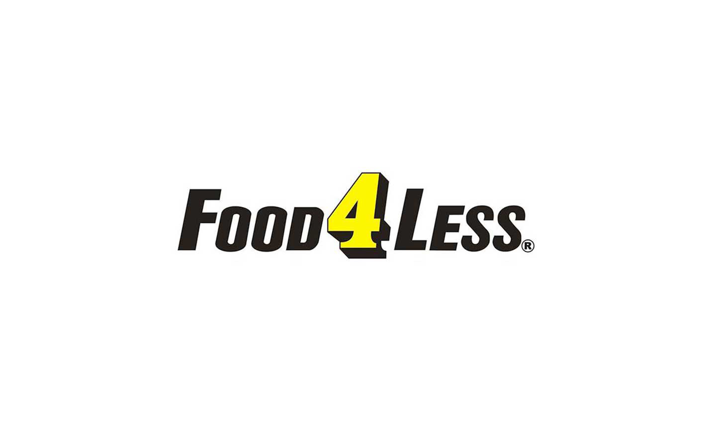 Food 4 Less logo