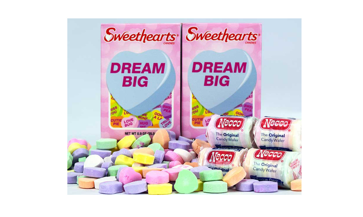 Sweetheart boxes and NECCO Wafers