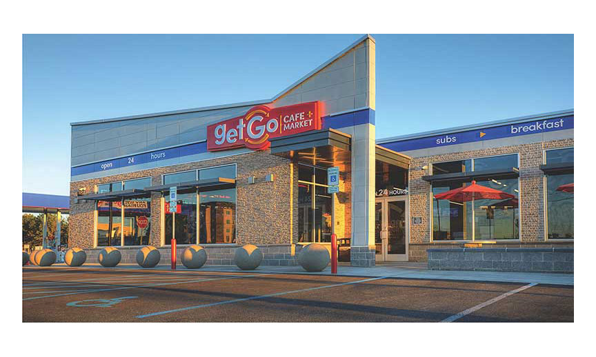 An exterior picture of a GetGo store