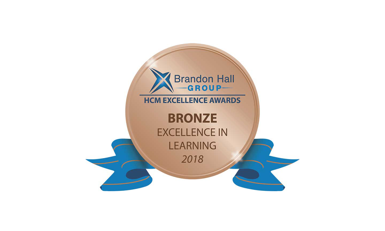 Brandon Hall Group Bronze Award for Excellence