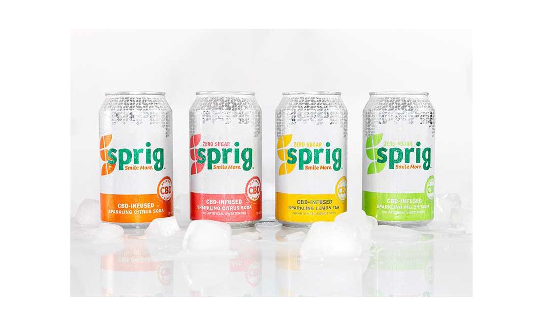 Sprig's CBD soda lineup