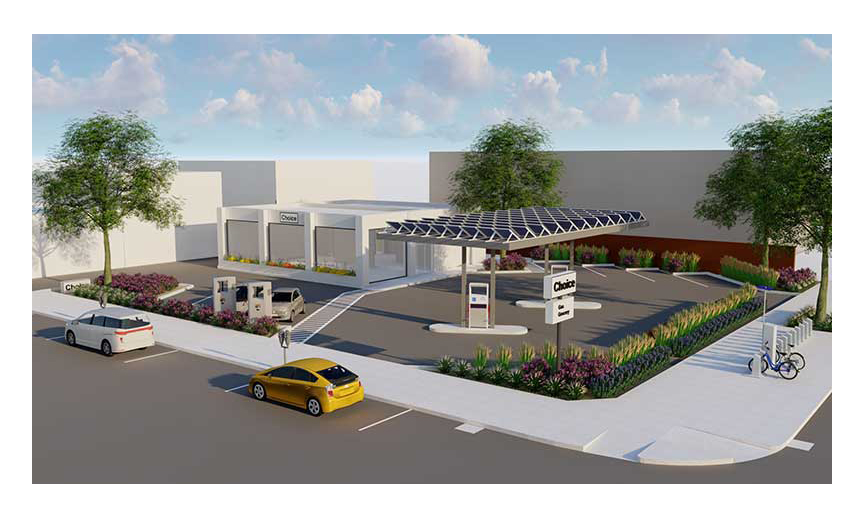 A rendering of the new Choice Market.