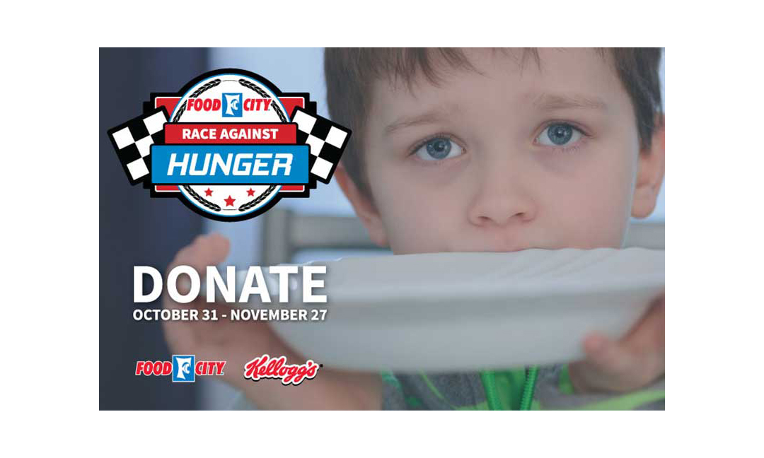 A Food City Race Against Hunger promo