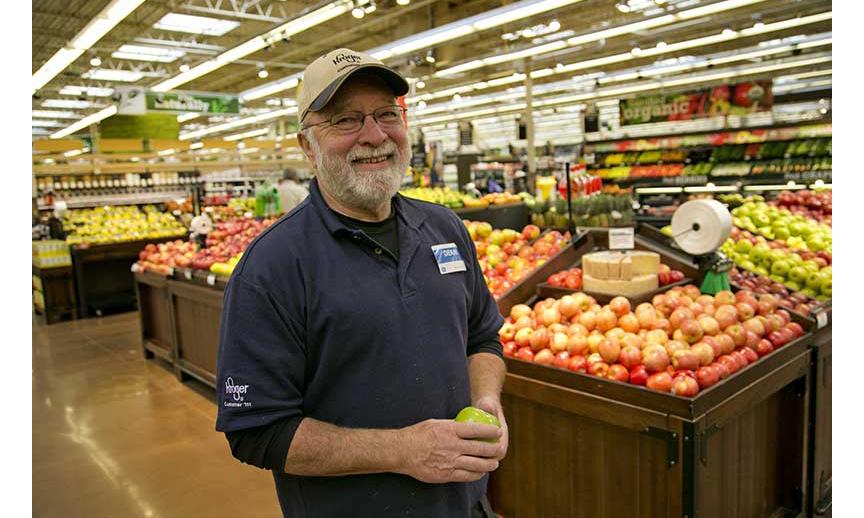 Dean Lefferdink, a Kroger employee.