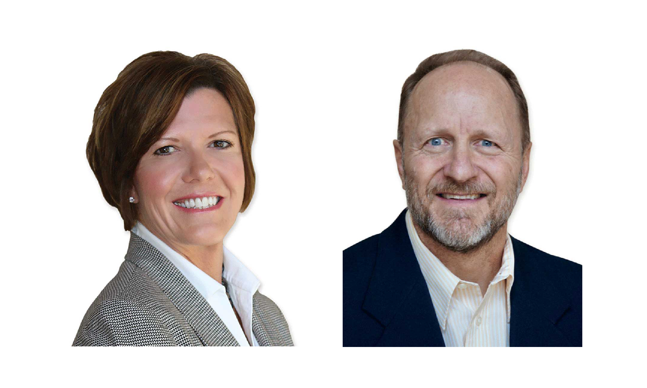 Ann McConnell and James Engstrom.