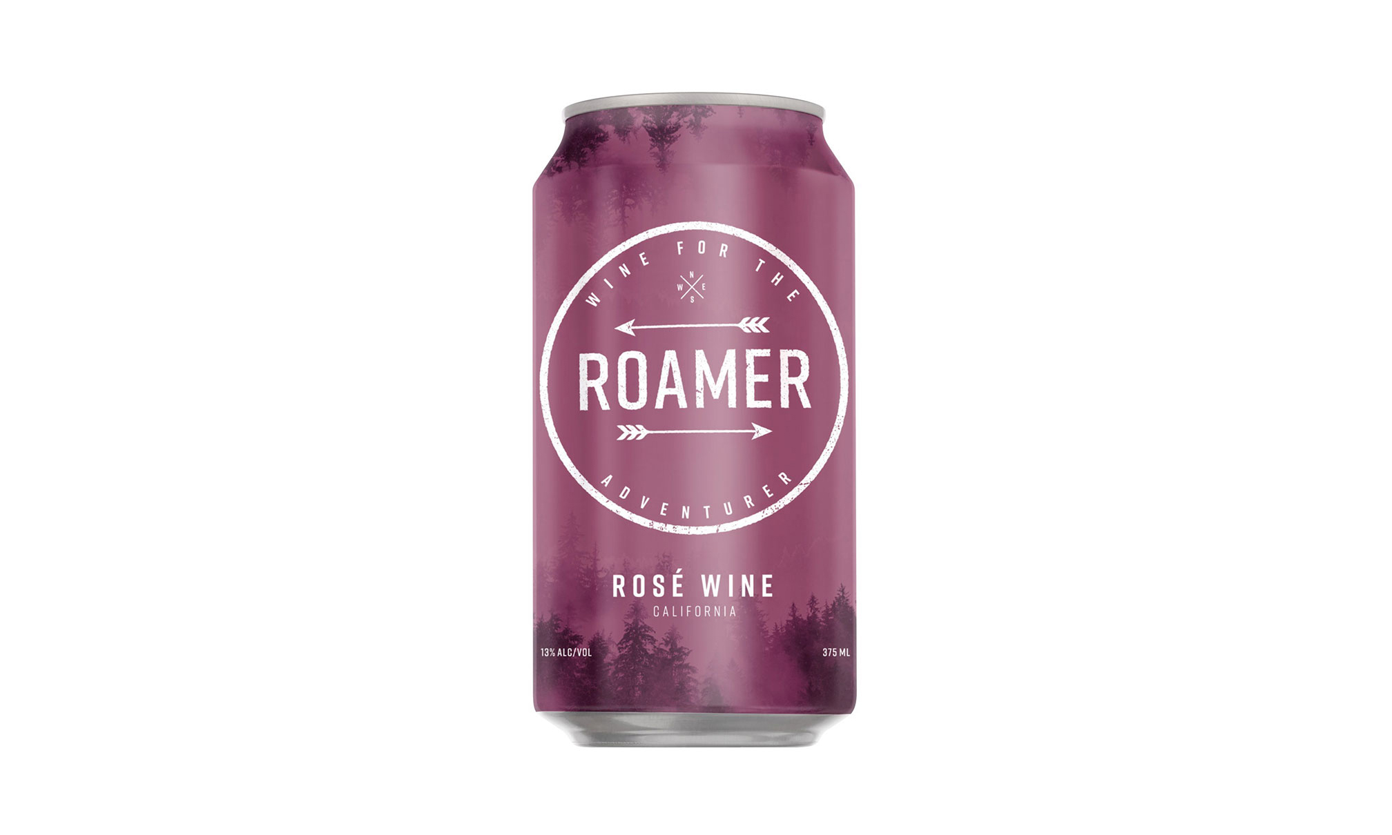 Roamer Rose canned wine