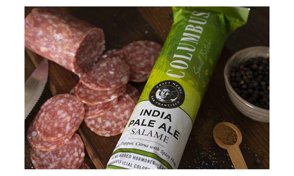 Columbus India Pale Ale Salame