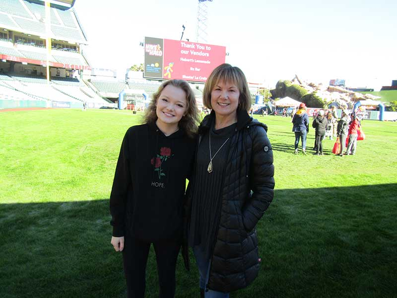 Shelby and Sue Klug at Hike the Halo.