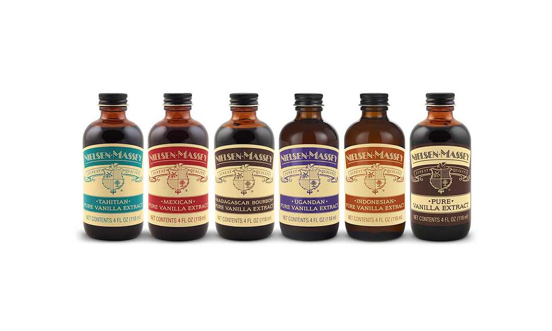 Nielsen-Massey vanilla extracts