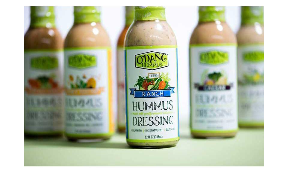 O'Dang Hummus dressings