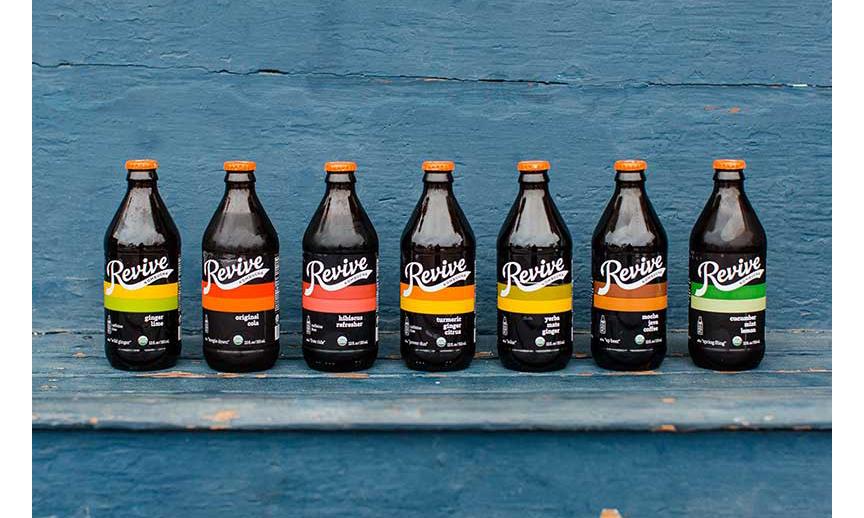 The Revive Kombucha product line