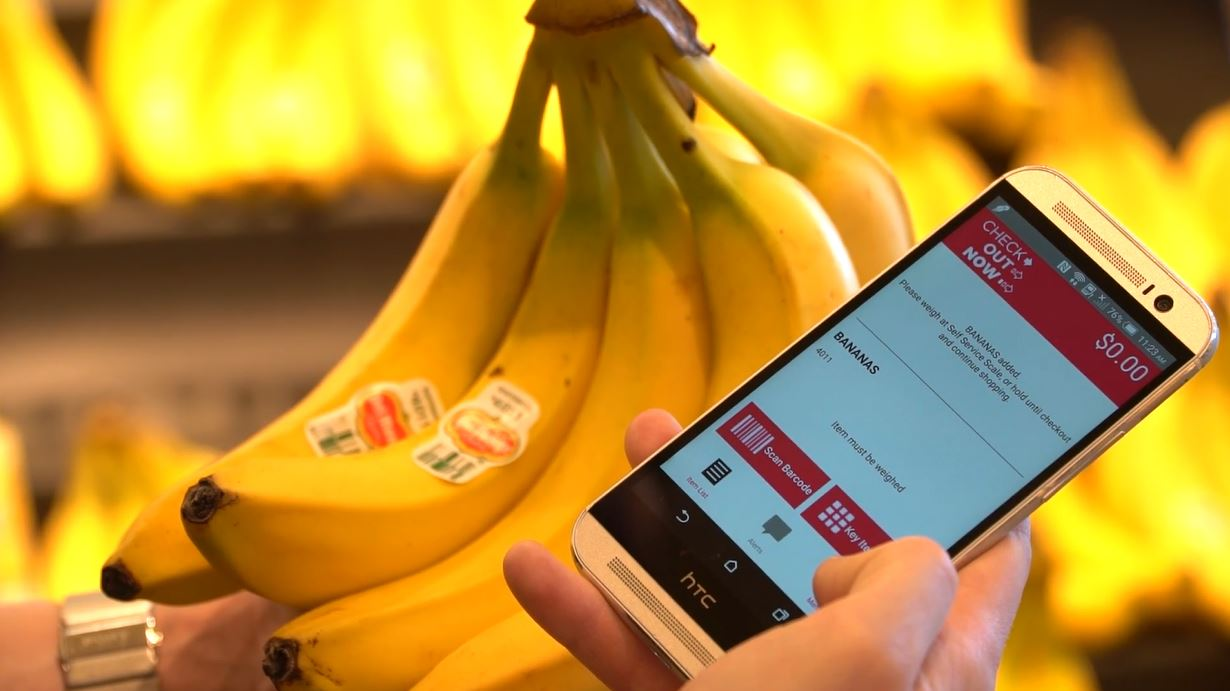 Check Out Now lets customers scan products as they shop.