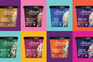 Alden's Organic ice cream pints