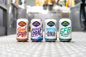 Green Flash's canned beers