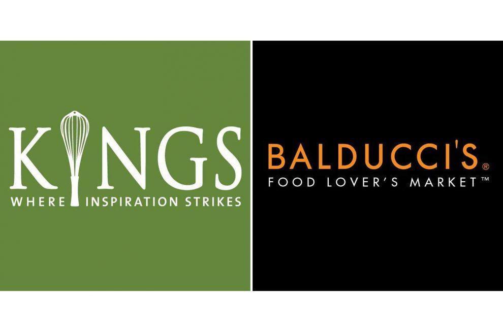 Kings' and Balducci's logos