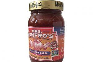 Mrs. Renfro's non-GMO salsa