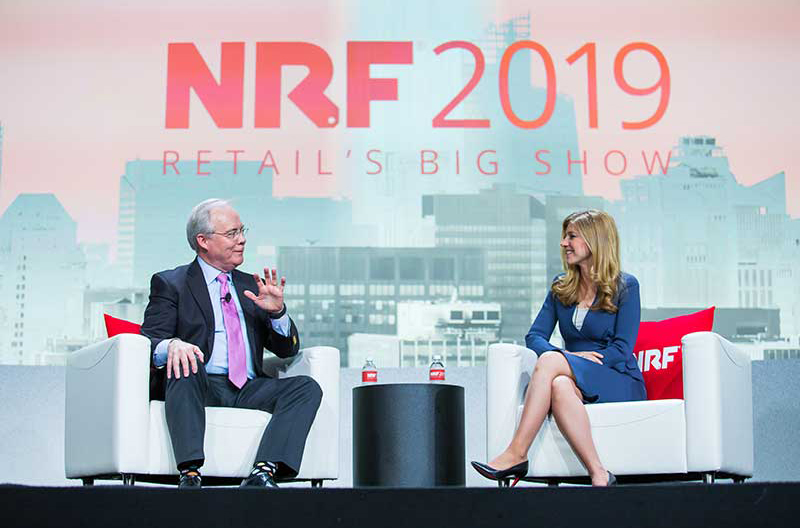 McMullen and Eisen at NRF 2019.