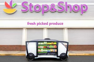 Stop & Shop's driverless delivery vehicle