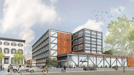 A rendering of Wegman's new Brooklyn store