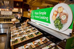 Home Chef retail meal kits in-store