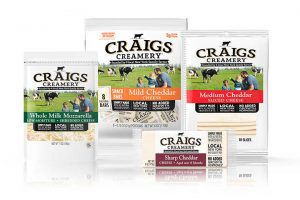 Craigs Cheese product lineup