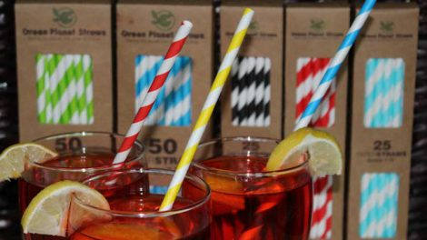 Green Planet paper straws