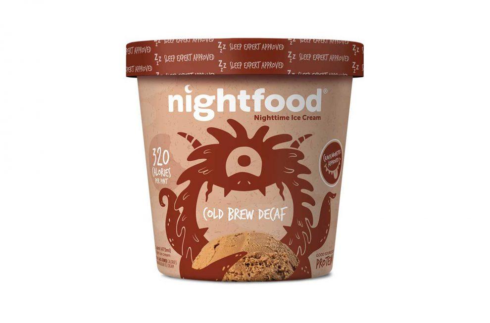 Nightfood ice cream, nighttime snacks