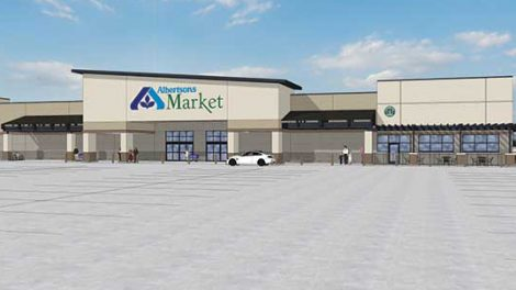 A rendering of the Albertsons Market that will open in Carlsbad in the fall of 2019.